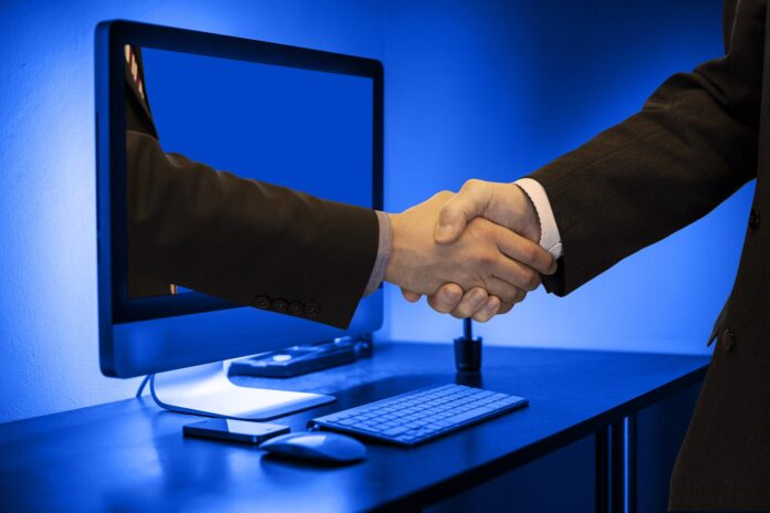 Forex-Broker-Handshake
